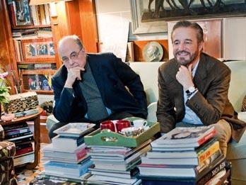 Manuel e Christian De sica (foto Milestone)