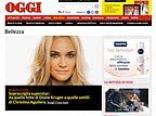 In anteprima, una pagina del nuovo sito di Oggi.it.