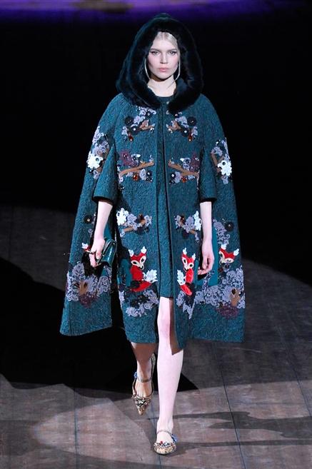 08aeb02b48110 Sfilata di Moda - Dolce-e-Gabbana - Donna Autunno Inverno 2014-15 - IoDonna