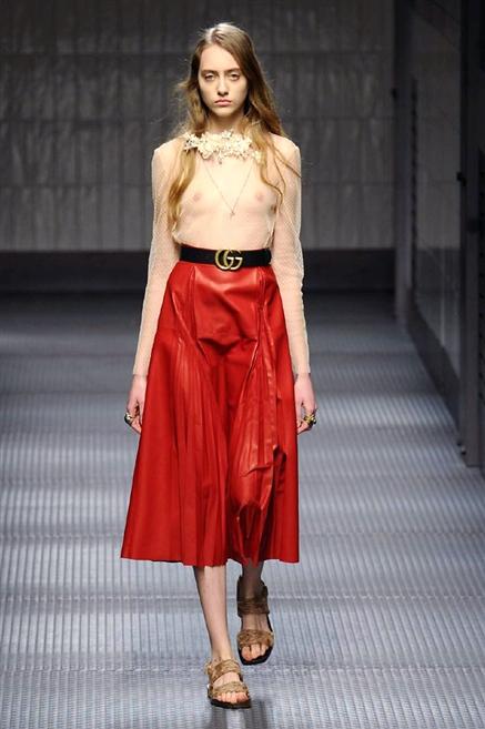 f102e5616bf197 Sfilate di Moda - Gucci - Donna Autunno Inverno 2015-16 - IoDonna