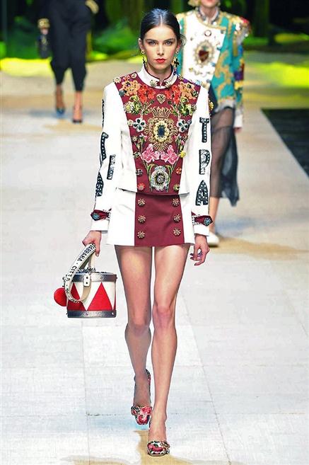 Sfilate di Moda - Dolce-e-Gabbana - Donna Primavera Estate 2017 - IoDonna 0d2d10390e7