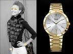 Orologi e accessori: dettagli d'oro...